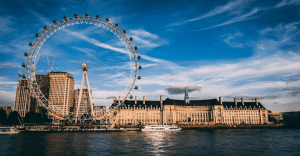 View-of-the-London-Eye-and-Southbank-on-a-UK-Gap-Year