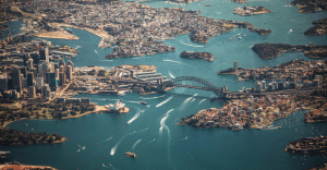 Ariel-view-of-Sydney-for-Australian-Gap-Year