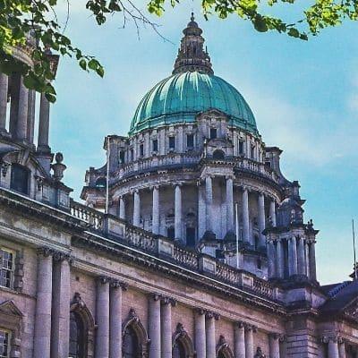 Belfast City Hall UK gap year