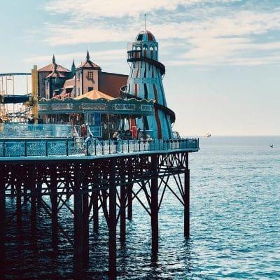Brighton Pier UK gap year