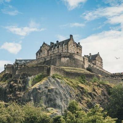 Edinburgh Castle UK gap year