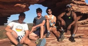 Letz live Australian gap year Kieraan Meyer Kalbarri