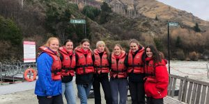 Lilly and NZ Gaps shotover jet