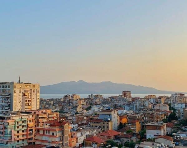 Albania skyline